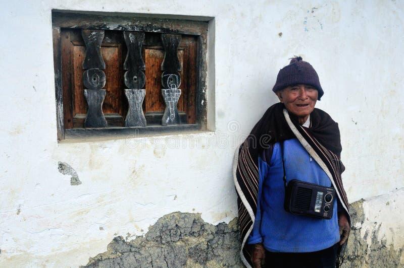 Chachapoyas - il Perù fotografia stock