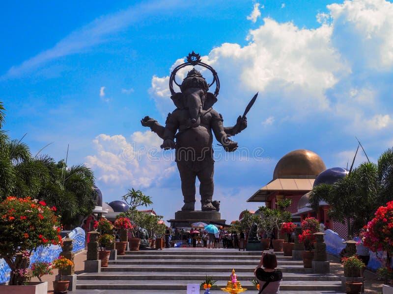 CHACHEANGSAO - 15 ΑΠΡΙΛΙΟΥ: Ινδός Θεός στοκ φωτογραφία
