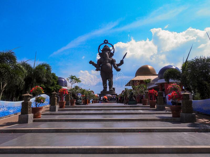 CHACHEANGSAO - 15 ΑΠΡΙΛΙΟΥ: Ινδός Θεός στοκ φωτογραφίες με δικαίωμα ελεύθερης χρήσης