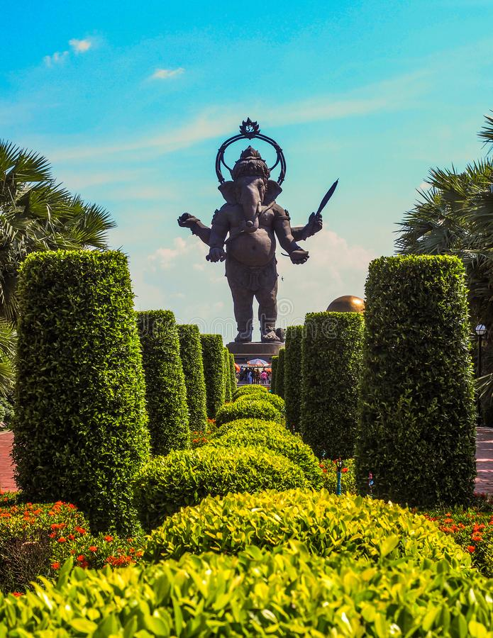 CHACHEANGSAO - 15 ΑΠΡΙΛΙΟΥ: Ινδός Θεός στοκ εικόνα με δικαίωμα ελεύθερης χρήσης