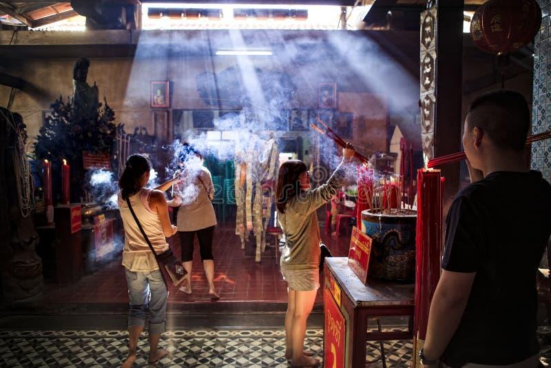 Chacheongsao Thaïlande - december14,2014 : St non identifié de personnes photo stock