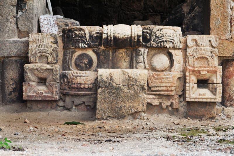 chackabahmaskering mexico yucatan royaltyfri bild