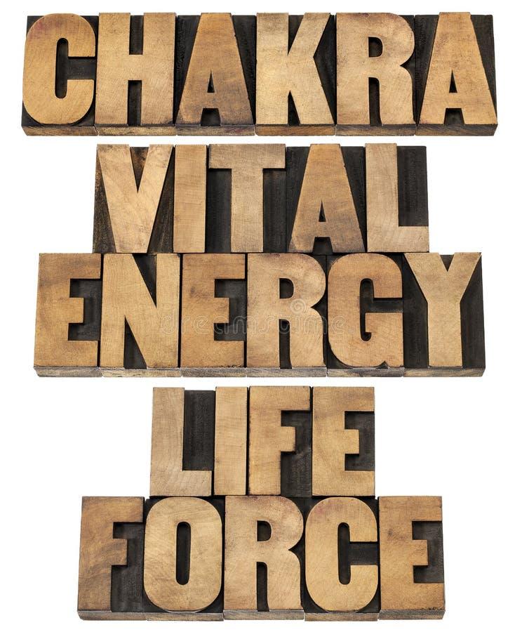 Chackra, energía vital, fuerza de la vida foto de archivo