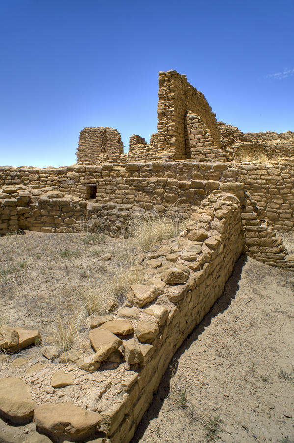 Download Chaco Canyon Ruins stock image. Image of historical, mexico - 10988023