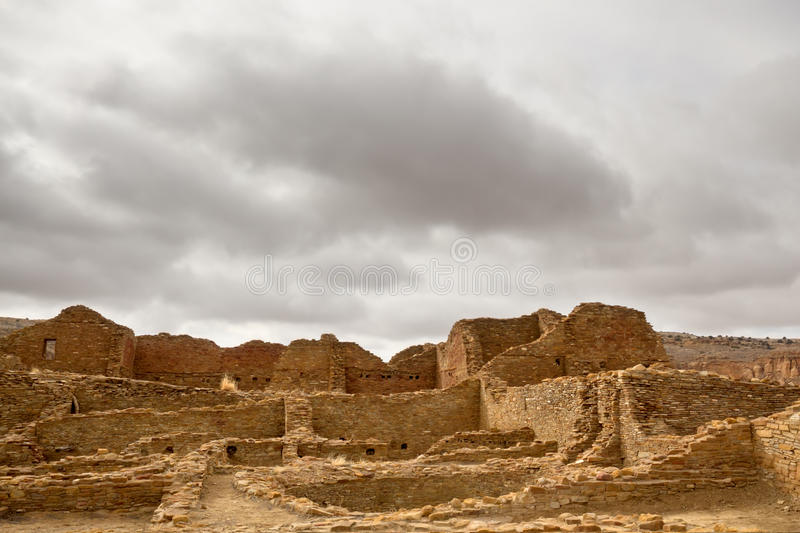 Chaco Culture National Historical Park Royalty Free Stock Photography