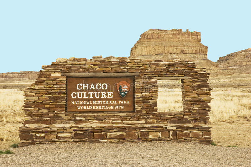 Download Chaco Culture Sign Stock Image - Image: 19559121