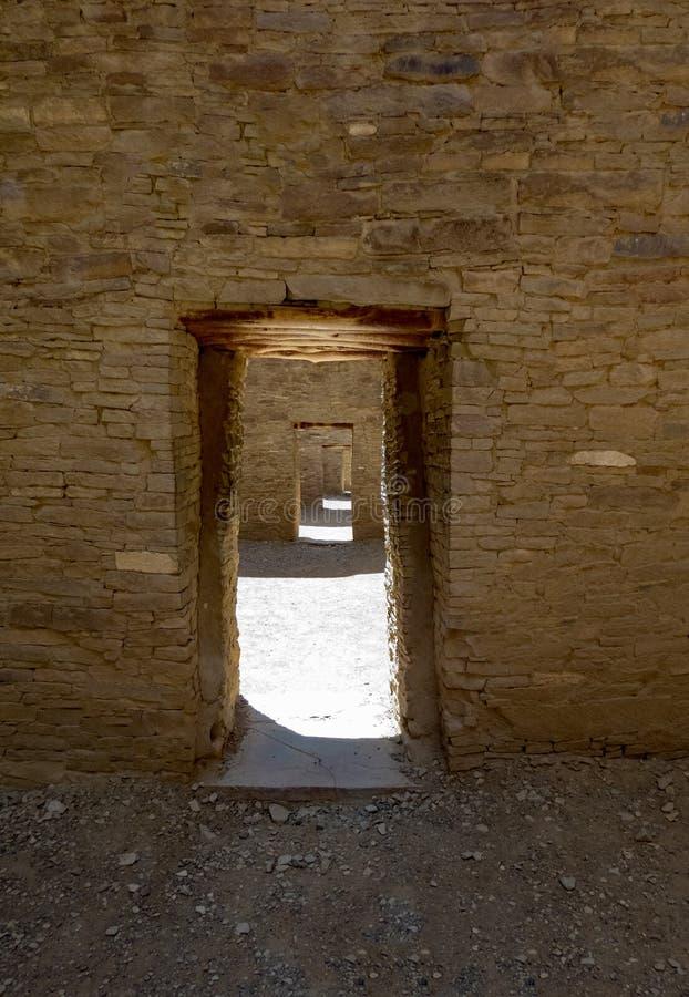 Chaco drzwi zdjęcia royalty free