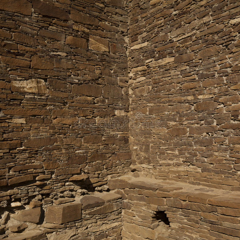 Chaco Ruins royalty free stock images