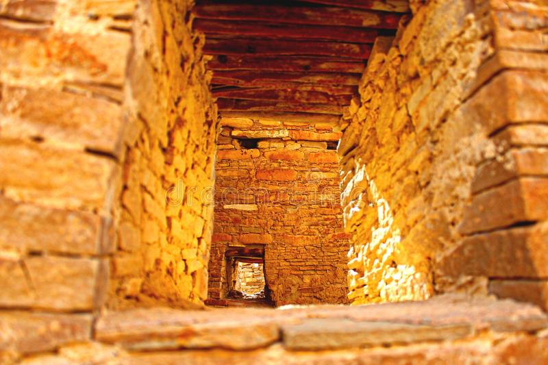 Chacocanion in New Mexico stock foto