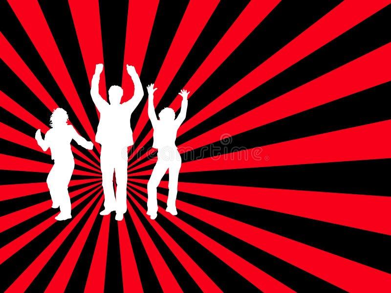 Chacun dansent ! illustration libre de droits