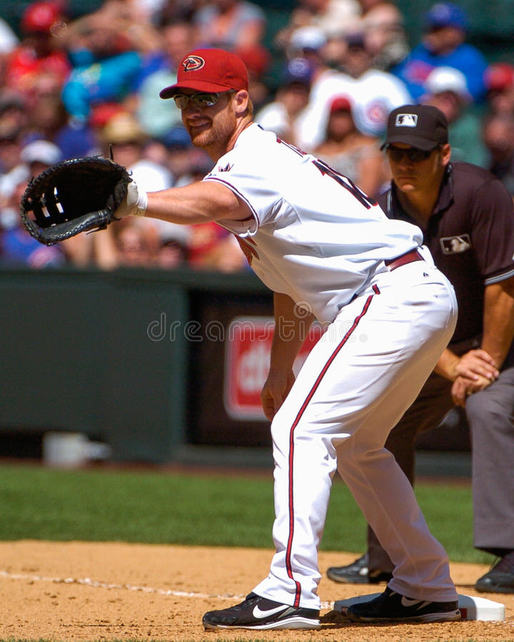 Chad Tracy Arizona Diamondbacks 1B photos libres de droits