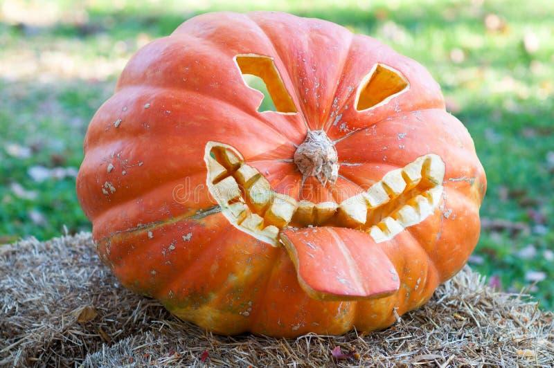 CHADDS FORD, PA - 26 OTTOBRE: La grande zucca Carve che scolpisce concorso il 26 ottobre 2013 fotografia stock libera da diritti