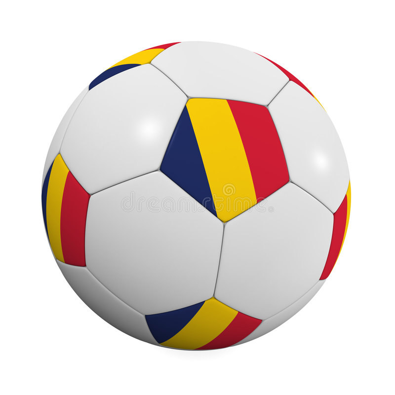 Free Chadian Soccer Ball Stock Photography - 4888952