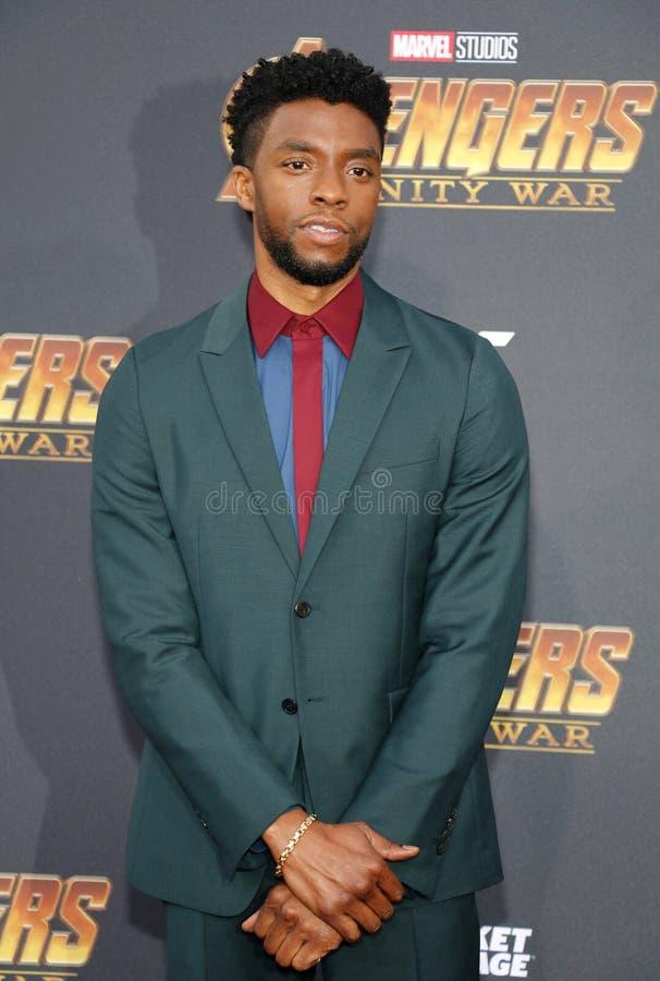 Chadwick Boseman стоковое фото