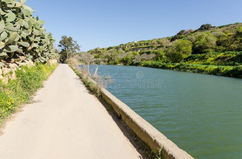 Chadwick Lakes - Malta foto de stock