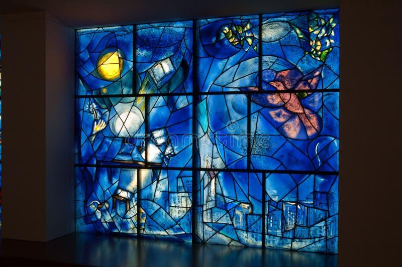 Chagall Amerika Fenster lizenzfreie stockfotografie