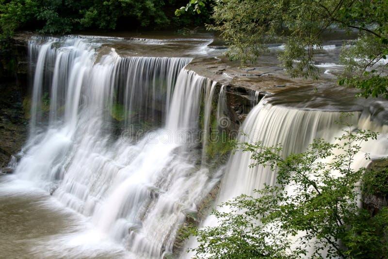 chagrin - falls royaltyfri fotografi