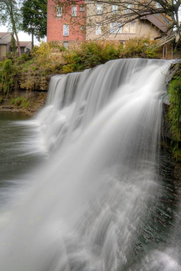 Chagrin Falls Ohio stock photos