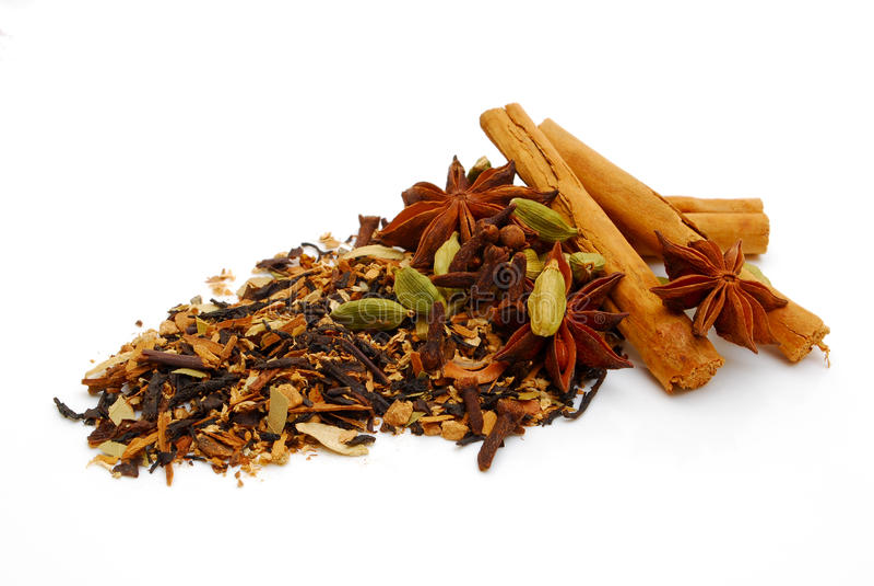 chai hindusa herbata obrazy royalty free