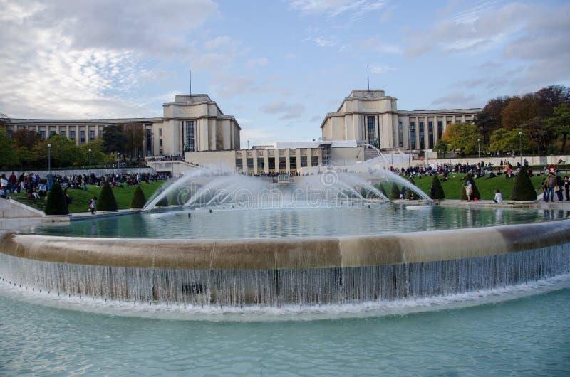 chaillot de palais στοκ φωτογραφία με δικαίωμα ελεύθερης χρήσης