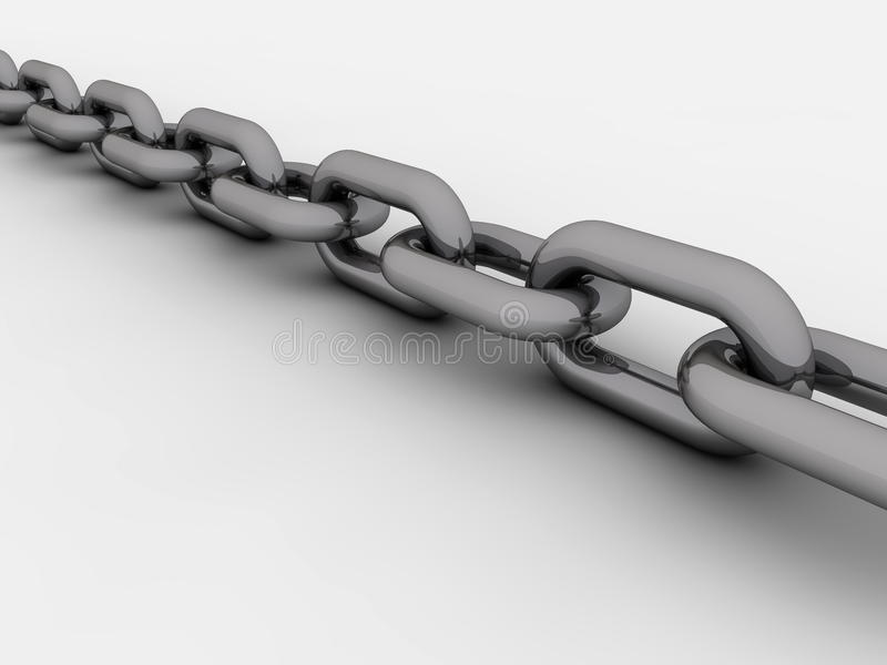 Download Chain stock photo. Image of white, power, render, teamwork - 16911164