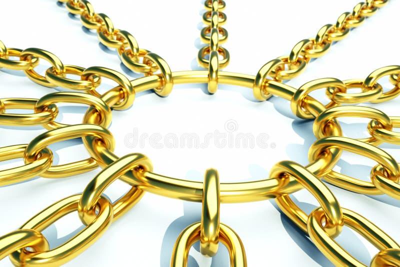 Chain vector illustration