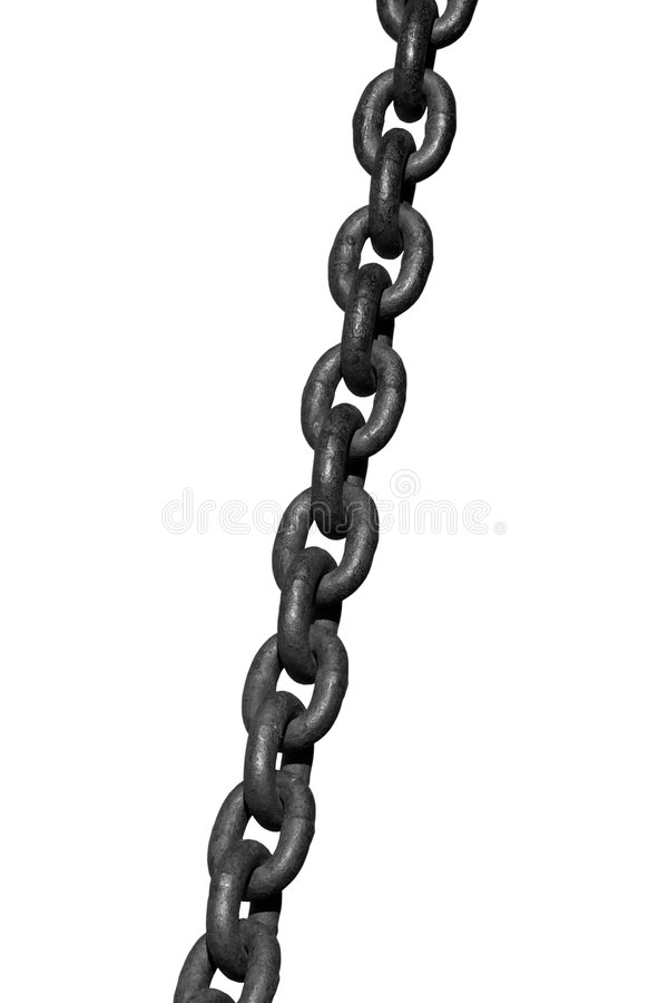 Download Chain stock image. Image of join, bonding, attached, straight - 4513763