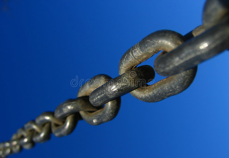The chain royalty free stock images