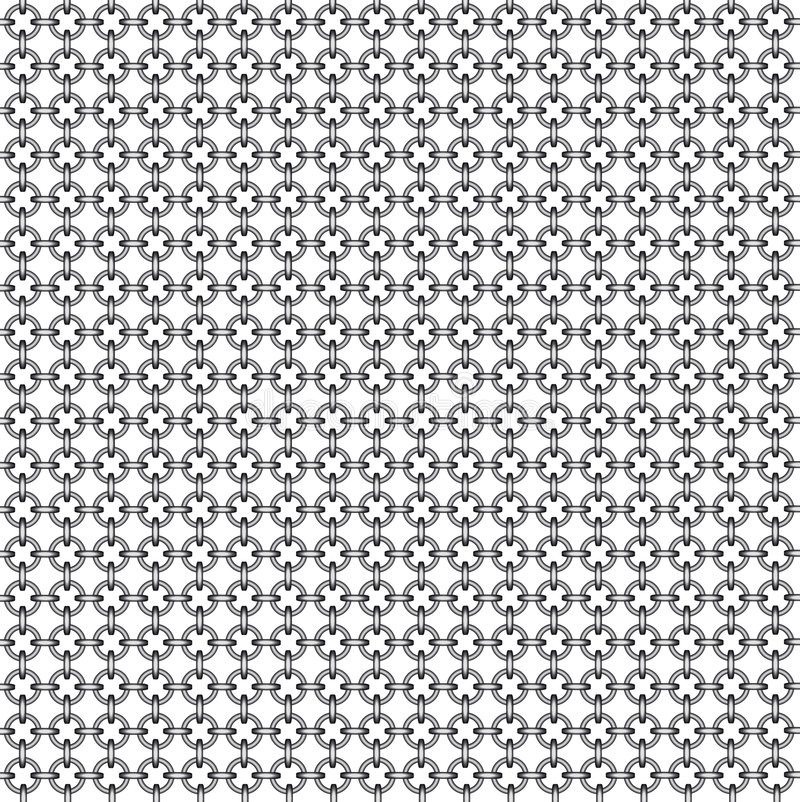Chain armour. Pattern or background royalty free illustration
