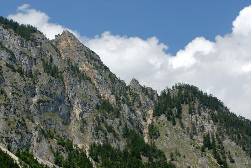 chain berg för alps arkivbild