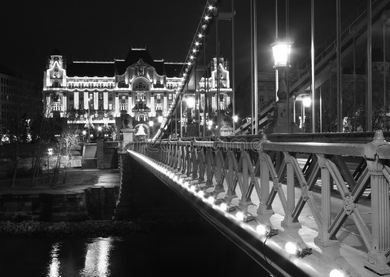 Download Chain bridge stock image. Image of scene, reflection, city - 7565623