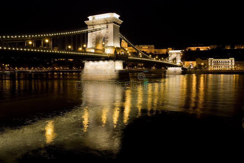 Download Chain bridge in budapest stock image. Image of europe - 10948915