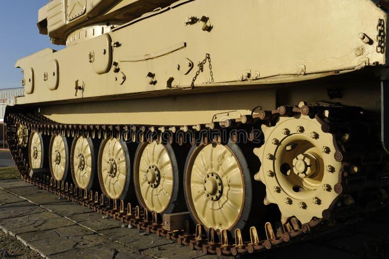 Chain Of British Light Tank Stock Photo