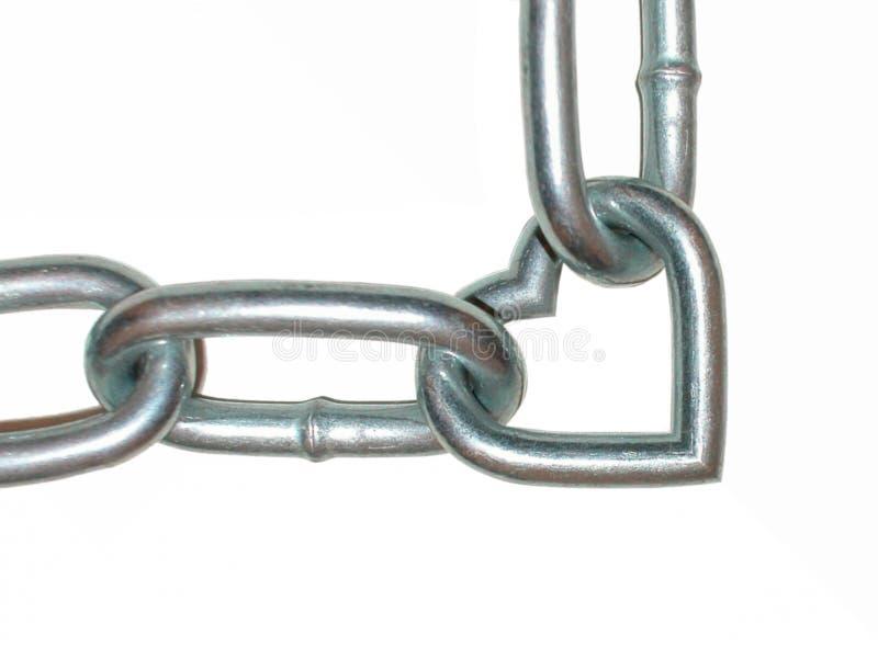 chain förälskelse royaltyfria bilder