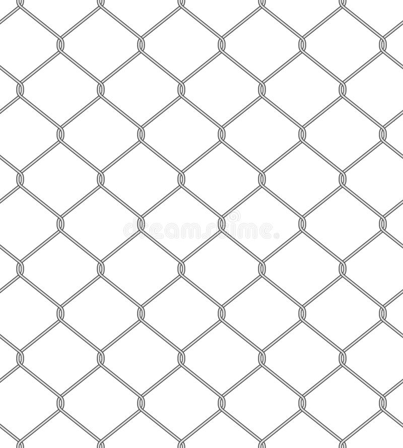 Download Chain Fence. Seamless Pattern Royalty Free Stock Photography - Image: 27831587
