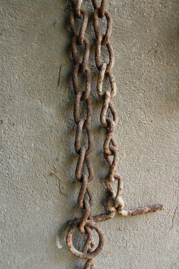 chain ferrugionous gammalt royaltyfria foton