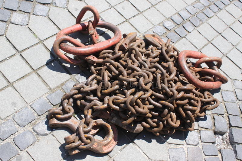 Download Chain stock image. Image of iron, steel, attached, rough - 31868083