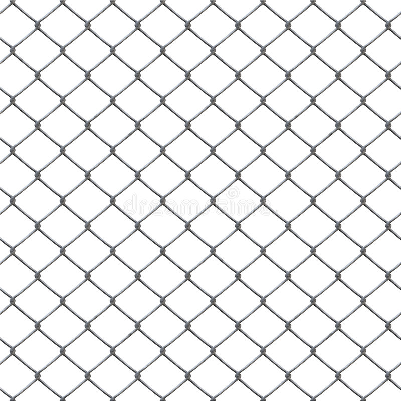 Chain link stock illustration