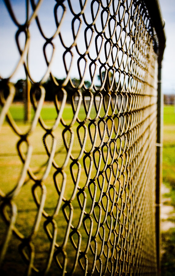 Download Chain Link Fence stock photo. Image of field, sports, background - 3960000