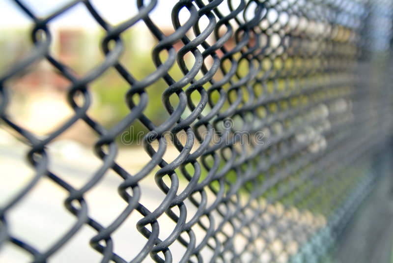 Download Chain Link Fence stock image. Image of closeup, boundary - 6804187