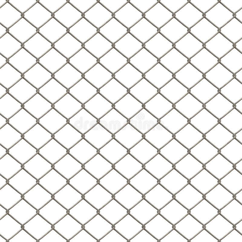 Download Chain Link Fence stock illustration. Image of prison, fence - 7475387
