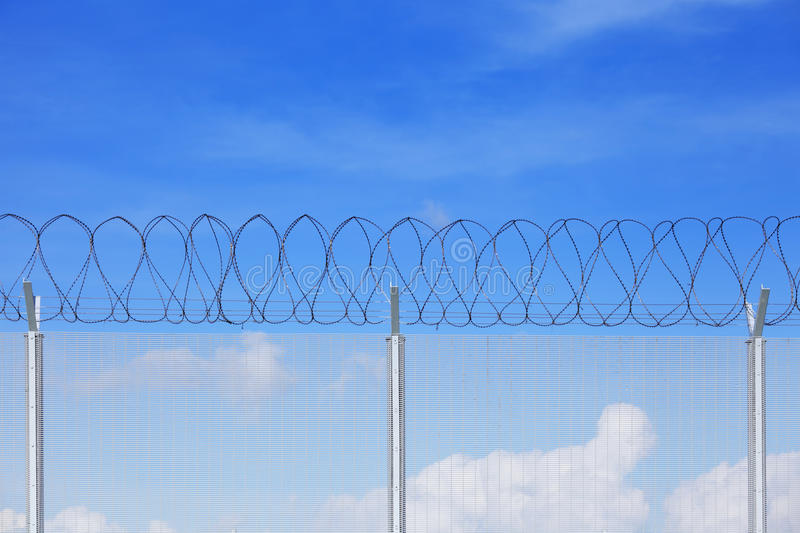 Download Chain link fence stock photo. Image of clear, boundary - 32311838