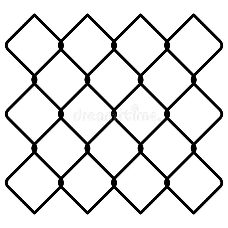 Chain link fence Hand drawn Crafteroks svg free, free svg file, eps, dxf, vector, logo, silhouette, icon, instant download, digita. Chain link fence vector eps vector illustration