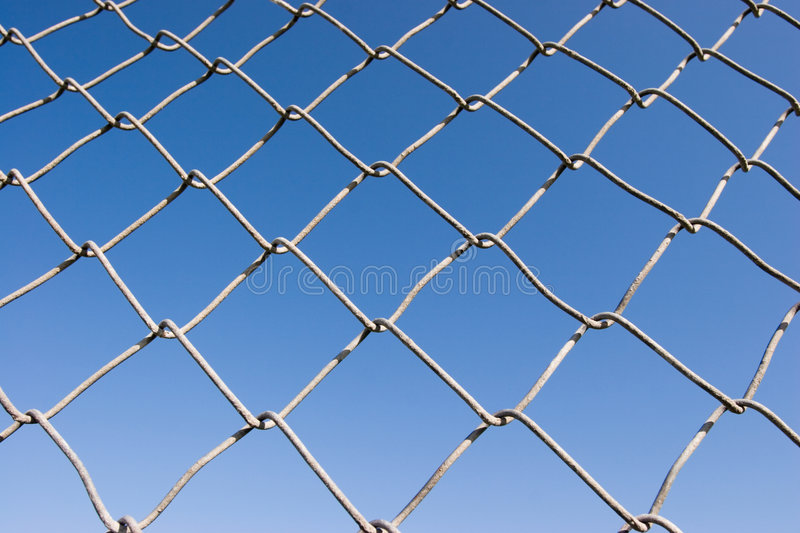 Chain Link Fence (series) royalty free stock images