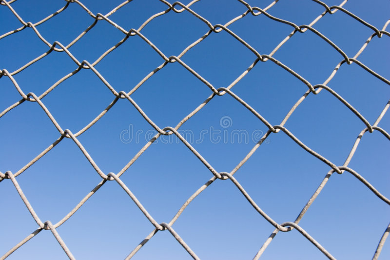 Chain Link Fence (series) royalty free stock photography