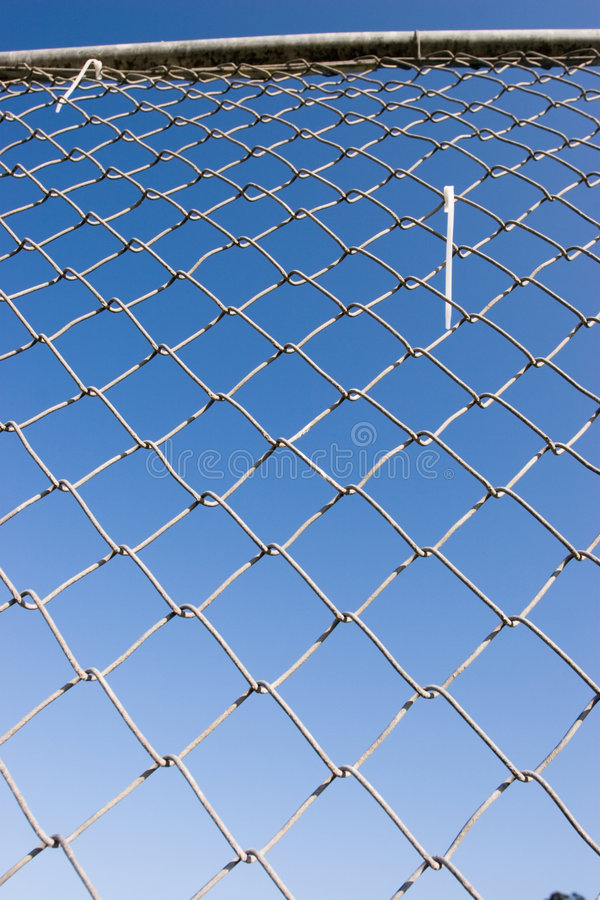 Chain Link Fence (series) royalty free stock photos