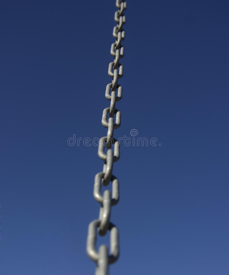 Chain link 6 stock photo