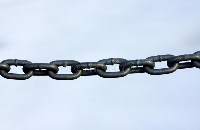 Download Chain Links stock photo. Image of frame, structure, hold - 12870152