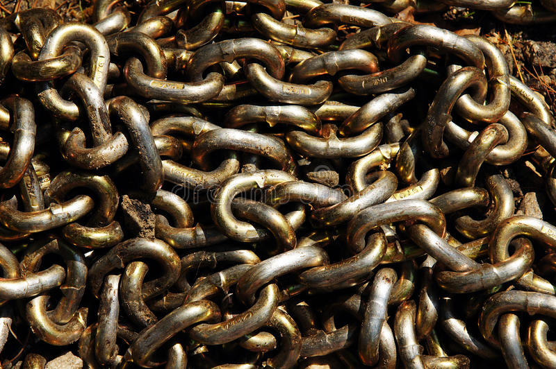 Download Chain Links stock image. Image of rusty, chain, pile - 23616393