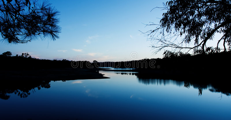 Chain of Ponds stock images